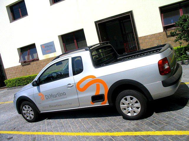 Babenko agencia de publicidade - Adesivacao Veiculos Empresa Frota - Identidade visual - Carro Di Martino