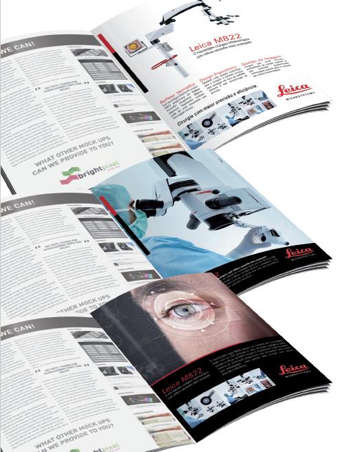 BABENKO agencia publicidade - Anuncio Revista Leica
