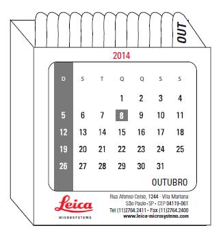 BABENKO agencia publicidade - Calendario Personalizado Leica - Interno