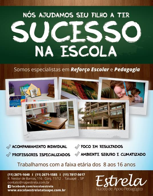 BABENKO agencia publicidade - Criacao de Cartazes e Banner Escola Estrela