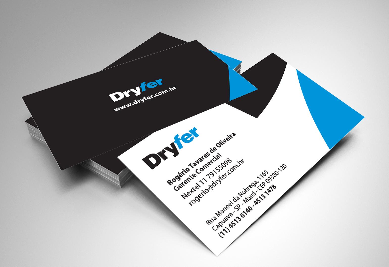 BABENKO agencia publicidade - Papelaria Identidade Visual - Cartao Visita Dryfer