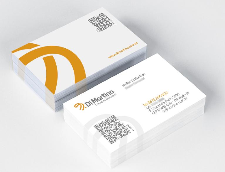 BABENKO agencia publicidade - Papelaria Identidade Visual - Cartao Visita Di Martino