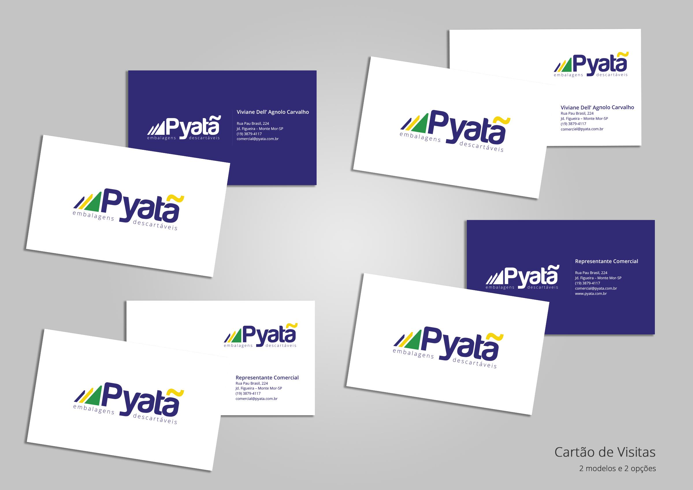 BABENKO agencia publicidade - Papelaria Identidade Visual - Cartao Visita Pyata