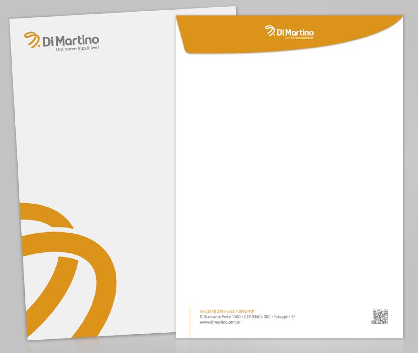 BABENKO agencia publicidade - Papelaria Identidade Visual - Envelope Di Martino