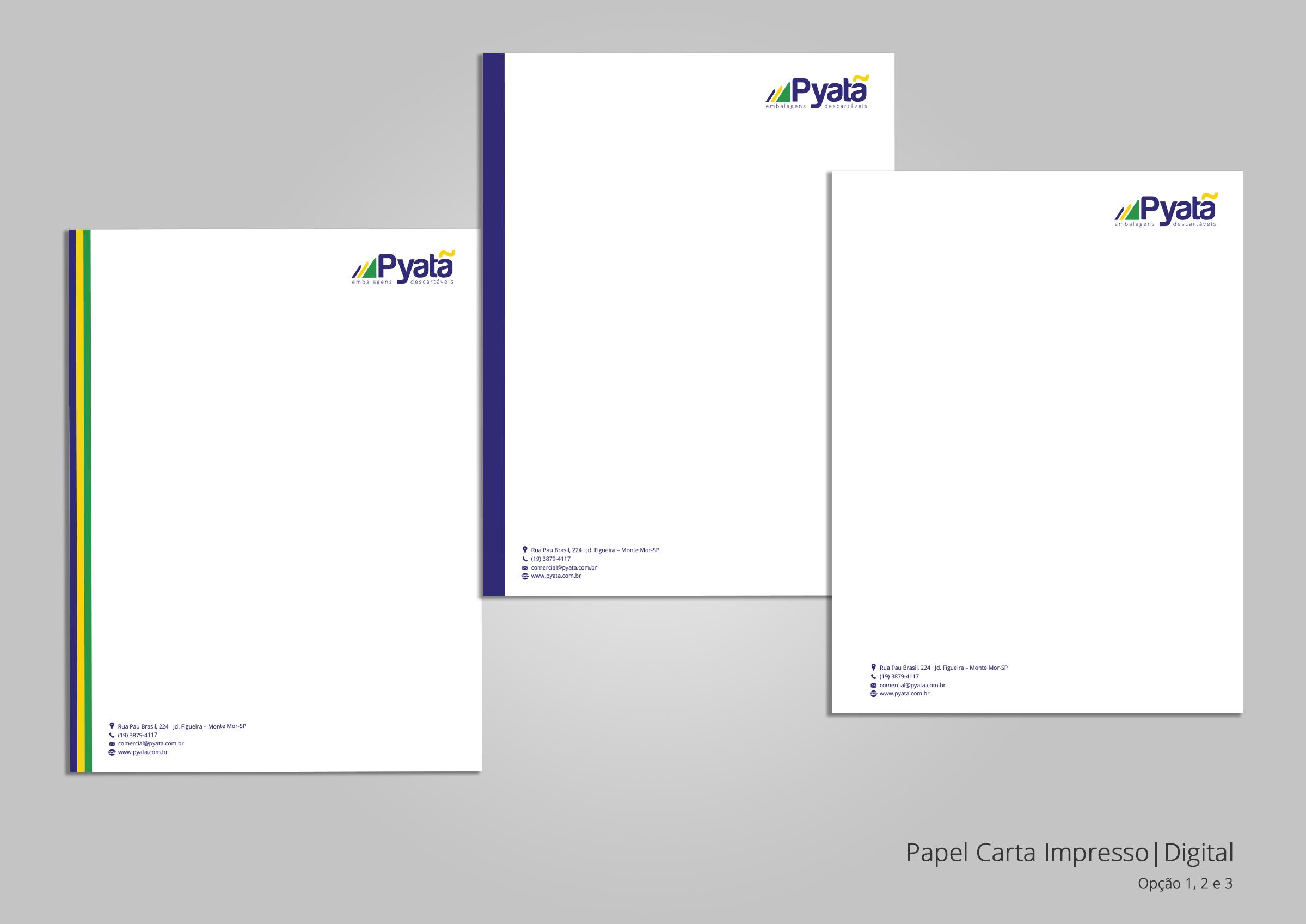 BABENKO agencia publicidade - Papelaria Identidade Visual - Papel Carta Pyata