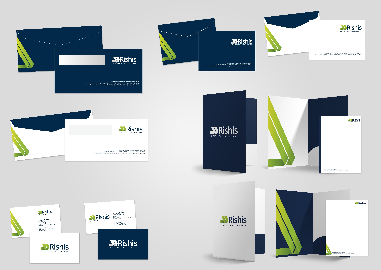 BABENKO agencia publicidade - Papelaria Identidade Visual Rhisis