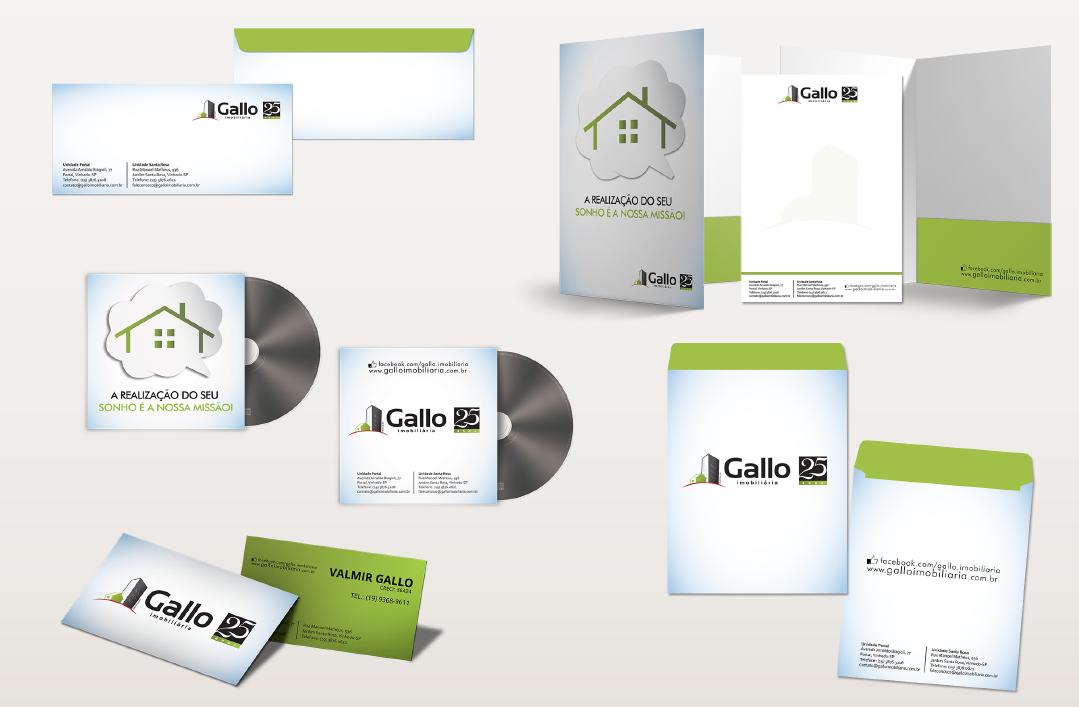 BABENKO agencia publicidade - Identidade Visual Papelaria Gallo