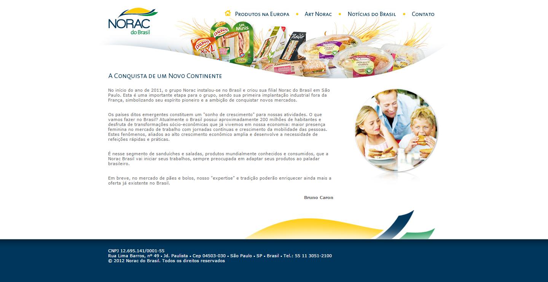 BABENKO agencia publicidade - Desenvolvimento Criação de Design de Sites Norac do Brasil