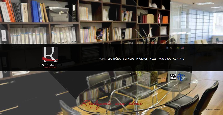BABENKO agencia publicidade - Desenvolvimento Criação de Design de Sites Renata Marques Arquitetura