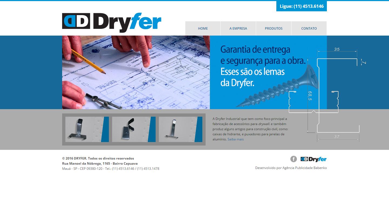 BABENKO agencia publicidade - Desenvolvimento Criação de Design de Sites Dryfer