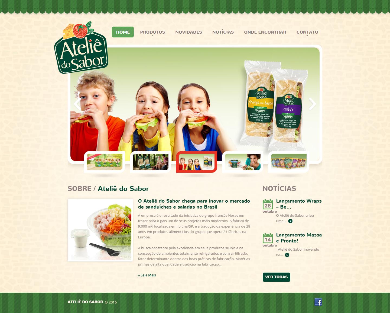 BABENKO agencia publicidade - Desenvolvimento Criação de Design de Sites Atelie do Sabor
