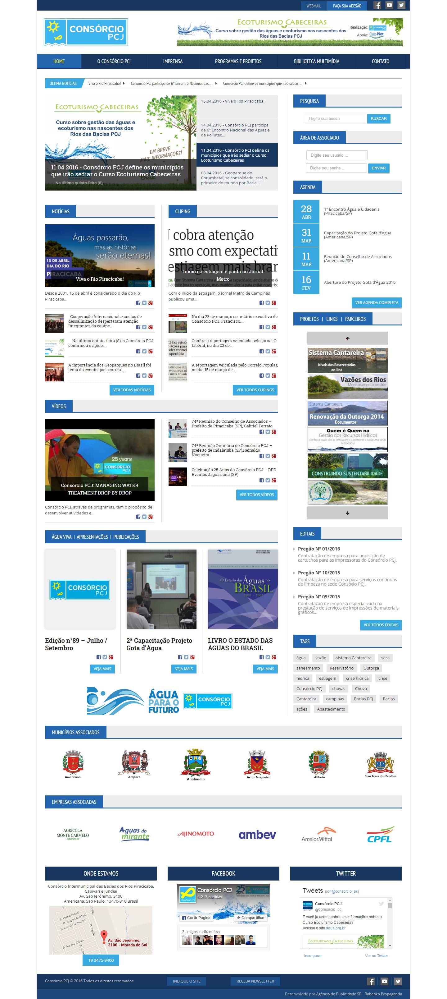 BABENKO agencia publicidade - Desenvolvimento Criação de Design de Sites Portal Consorcio PCJ