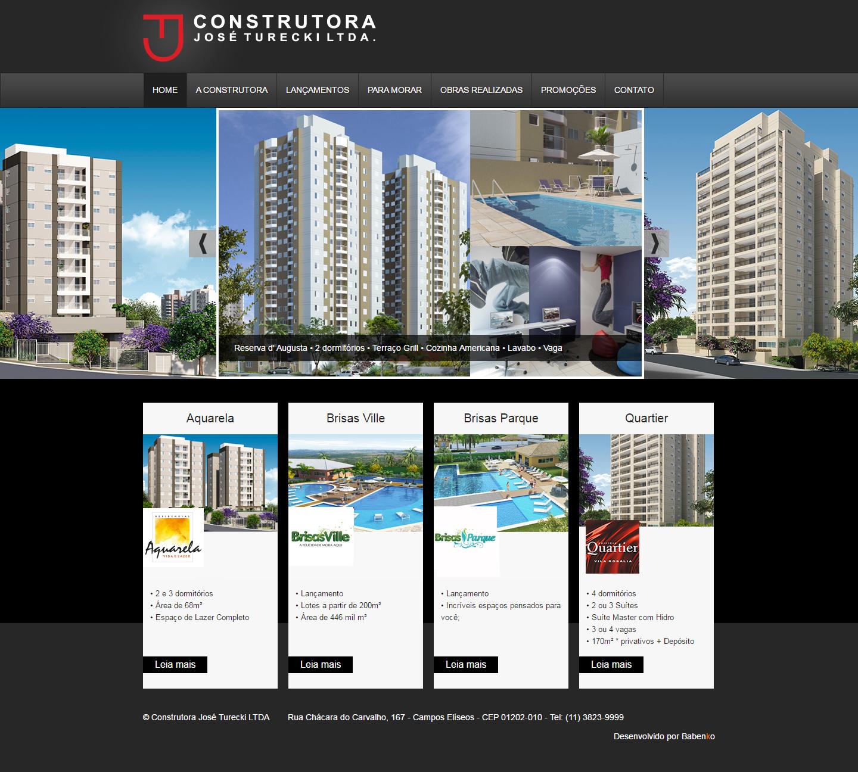 BABENKO agencia publicidade - Desenvolvimento Criação de Design de Sites Consturecki
