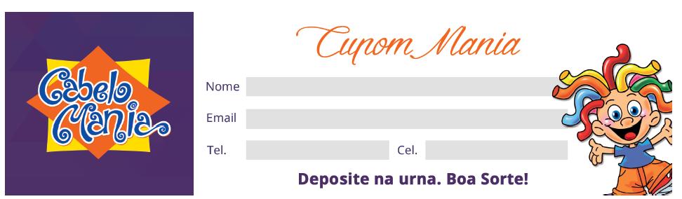 BABENKO agencia publicidade - Cupom Cabelo Mania