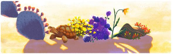BABENKO agencia publicidade - Dia da Terra - Doodle - Deserto