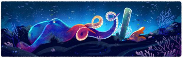 BABENKO agencia publicidade - Dia da Terra - Doodle - Oceano