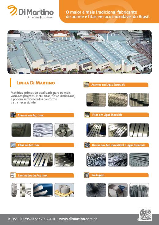 BABENKO agencia publicidade - Criação Flyer Institucional Di Martino