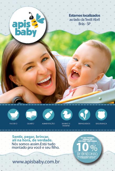 BABENKO agencia publicidade - Folder Institucional - Apis Baby