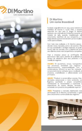 BK360 agencia publicidade - Criação Folder Institucional