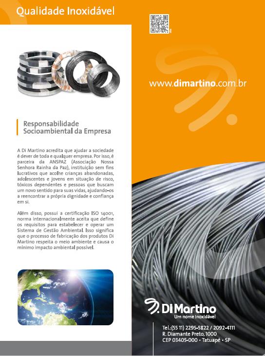 BABENKO agencia publicidade - Folder Institucional Di Martino - Verso