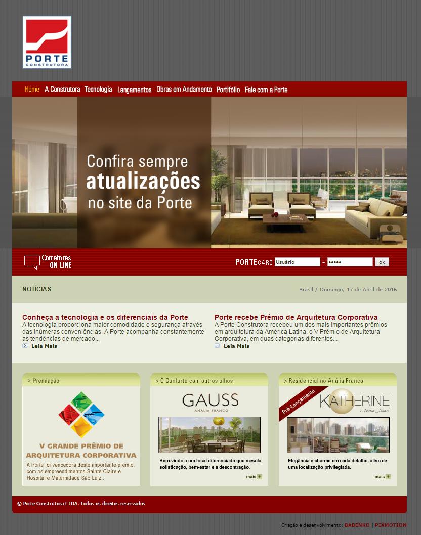 BABENKO agencia publicidade - Porte 2008